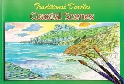 ADULT COLOURING COLLECTION DOODLES Coastal Scenes