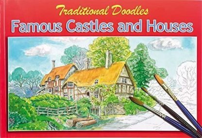 ADULT COLOURING COLLECTION DOODLES Famous Castles and Houses
