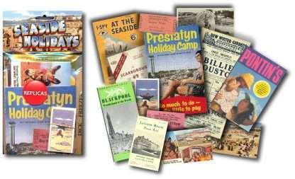 British Seaside Holiday Memorabilia Pack 2