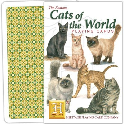 CATS OF THE WORLD PLAYING CARDS 1