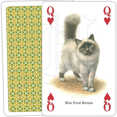 CATS OF THE WORLD PLAYING CARDS 4