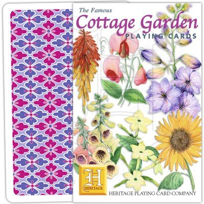 COTTAGE GARDEN PLAYING CARDS 1