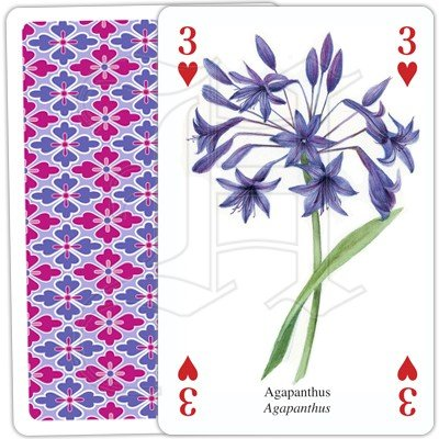 COTTAGE GARDEN PLAYING CARDS 3