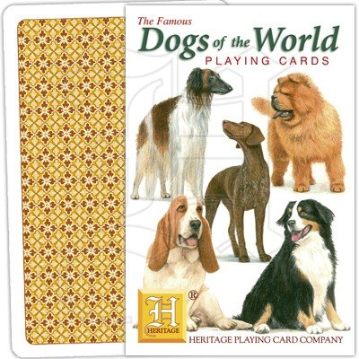 DOGS OF THE WORLD PLAYING CARDS 1