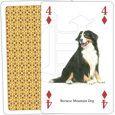 DOGS OF THE WORLD PLAYING CARDS 3