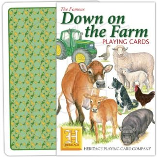 DOWN ON THE FARM PLAYING CARDS 1