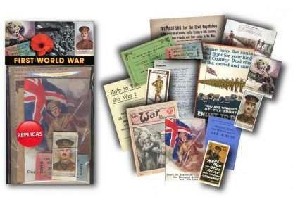 FIRST WORLD WAR MEMORABILIA PACK