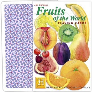 FRUITS OF THE WORLD PLAYING CARDS 1 1