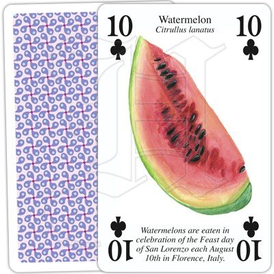 FRUITS OF THE WORLD PLAYING CARDS 3 1