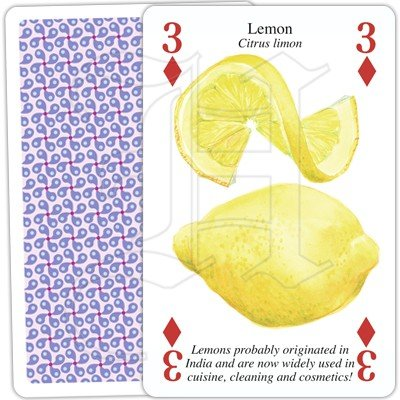 FRUITS OF THE WORLD PLAYING CARDS 4 1