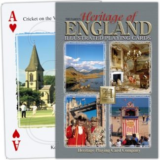 HERITAGE OF ENGLAND PLAYING CARDS 1