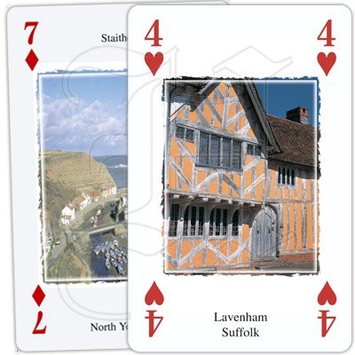 HERITAGE OF ENGLAND PLAYING CARDS 2