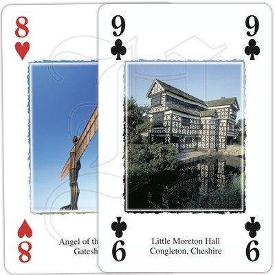 HERITAGE OF ENGLAND PLAYING CARDS 4