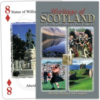 HERITAGE OF SCOTLAND PLAYING CARDS 1