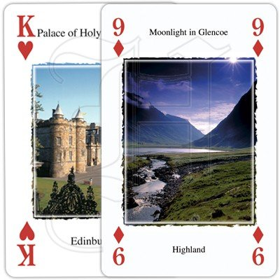 HERITAGE OF SCOTLAND PLAYING CARDS 2