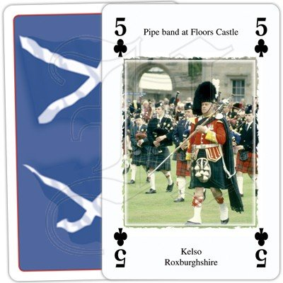 HERITAGE OF SCOTLAND PLAYING CARDS 3