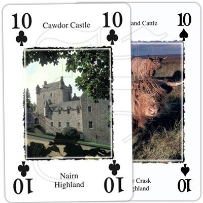 HERITAGE OF SCOTLAND PLAYING CARDS 4