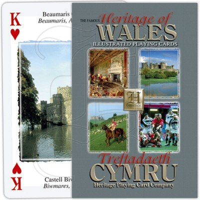 HERITAGE OF WALES PLAYING CARDS 1
