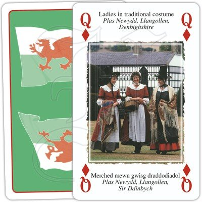 HERITAGE OF WALES PLAYING CARDS 2