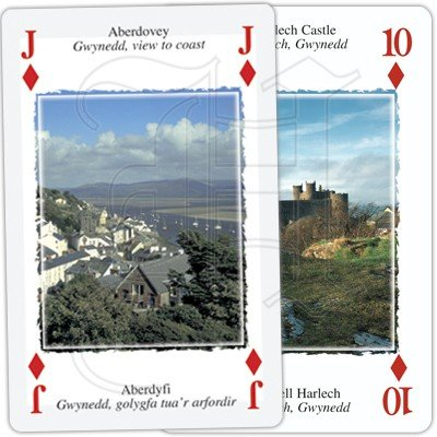 HERITAGE OF WALES PLAYING CARDS 3