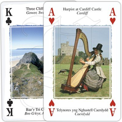 HERITAGE OF WALES PLAYING CARDS 4