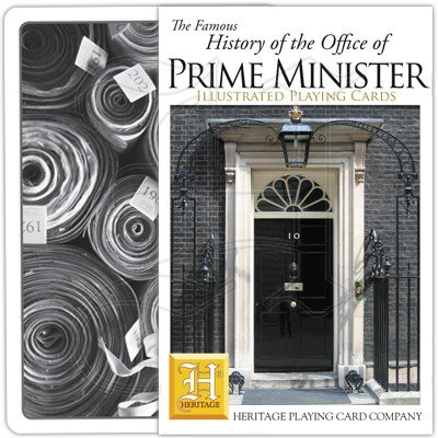 HISTORY OF PRIME MINISTERS PLAYING CARDS 1