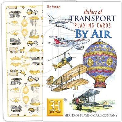 HISTORY OF TRANSPORT BY AIR PLAYING CARDS 1