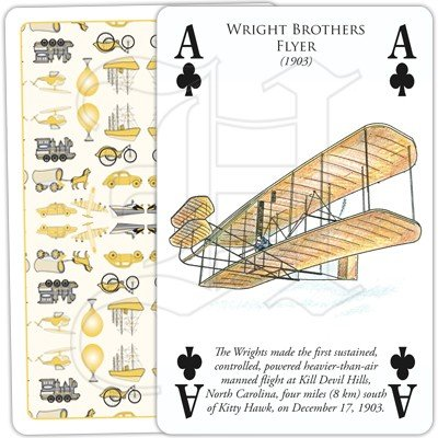 HISTORY OF TRANSPORT BY AIR PLAYING CARDS 3