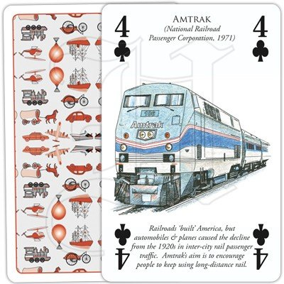 HISTORY OF TRANSPORT BY RAIL PLAYING CARDS 3