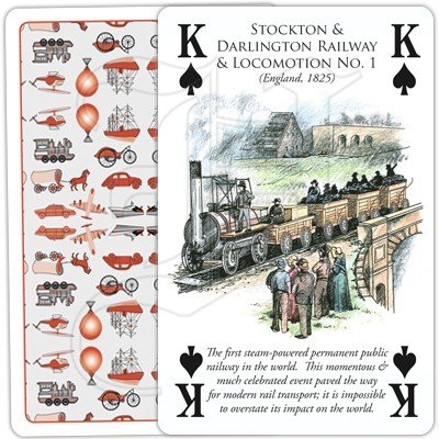 HISTORY OF TRANSPORT BY RAIL PLAYING CARDS 4