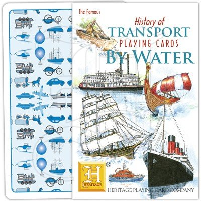 HISTORY OF TRANSPORT BY WATER PLAYING CARDS 1