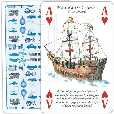 HISTORY OF TRANSPORT BY WATER PLAYING CARDS 2