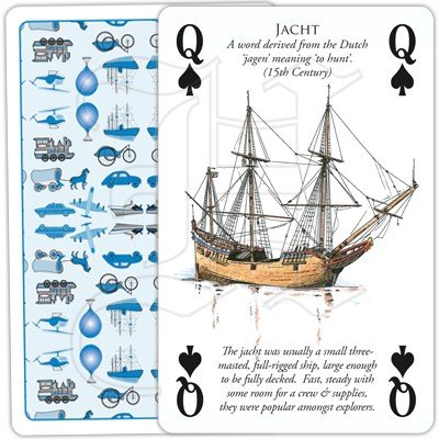HISTORY OF TRANSPORT BY WATER PLAYING CARDS 3