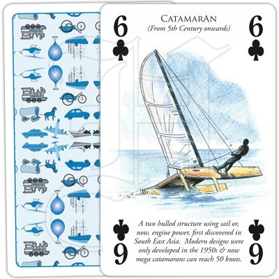 HISTORY OF TRANSPORT BY WATER PLAYING CARDS 4