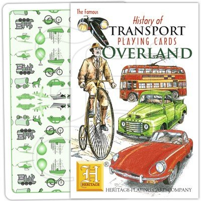 HISTORY OF TRANSPORT OVERLAND PLAYING CARDS 1