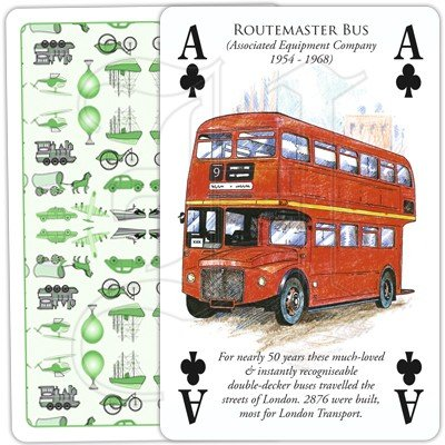 HISTORY OF TRANSPORT OVERLAND PLAYING CARDS 2