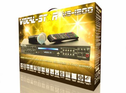 KARAOKE SET WITH 150 PARTY SONGS 5