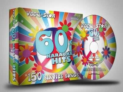 Karaoke Disc Pack CDG 8 Discs 150 Songs 60s title