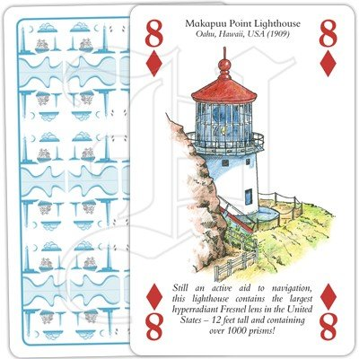 LIGHTHOUSES PLAYING CARDS 2