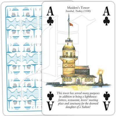LIGHTHOUSES PLAYING CARDS 4