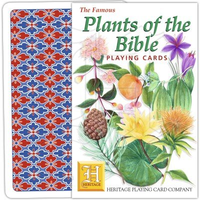 PLANTS OF THE BIBLE PLAYING CARDS 1