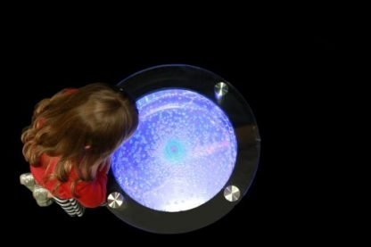 ROUND BUBBLE TABLE COLOUR CHANGING 2