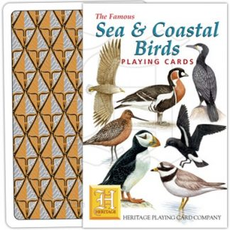 SEA AND COASTAL BIRDS PLAYING CARDS 1
