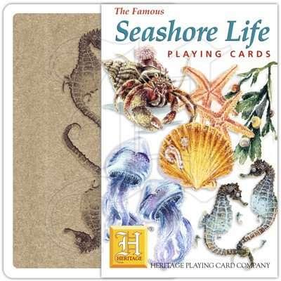 SEASHORE LIFE PLAYING CARDS 1