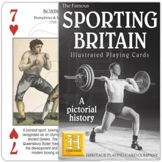 SPORTING BRITAIN PLAYING CARDS 1