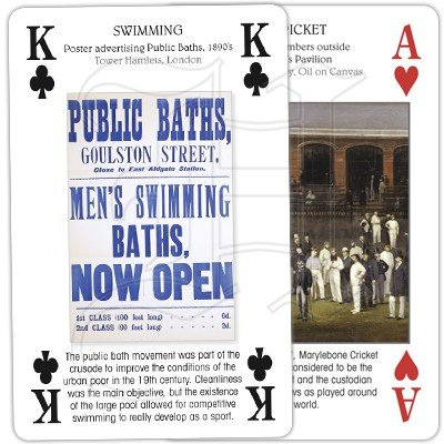 SPORTING BRITAIN PLAYING CARDS 4