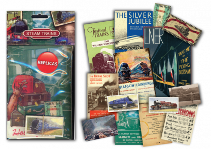 Steam Trains Memorabilia Pack 2