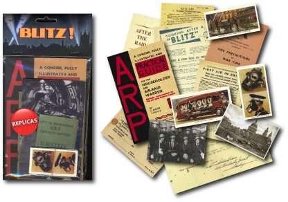 THE BLITZ MEMORABILIA PACK