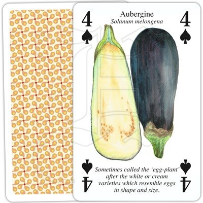 VEGETABLE GARDEN PLAYING CARDS 2