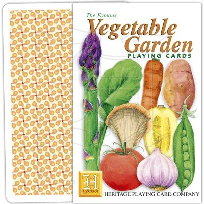VEGETABLE GARDEN PLAYING CARDS